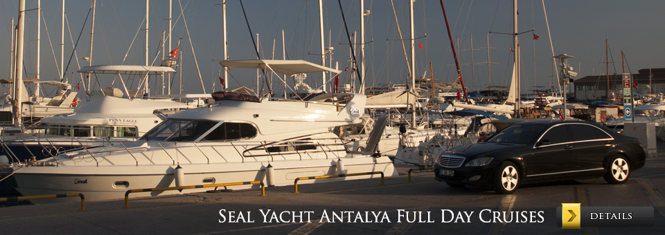 Antalya Full Day Yacht Cruise