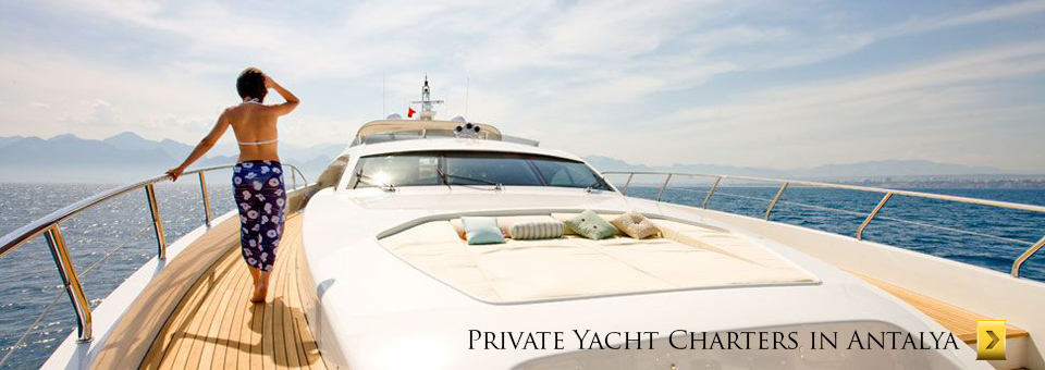 All inclusive daily yacht cruises in antalya