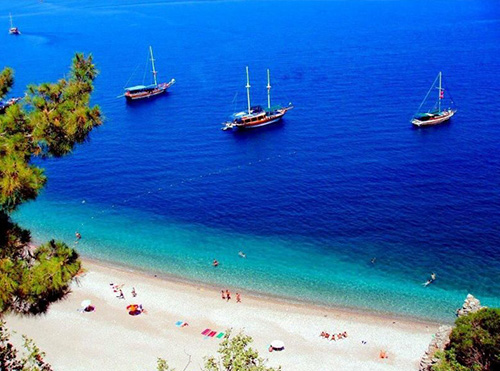OLYMPOS BY YACHT