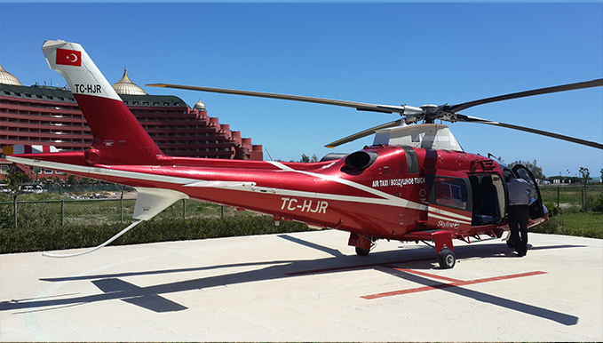 VIP HELICOPTER TOUR