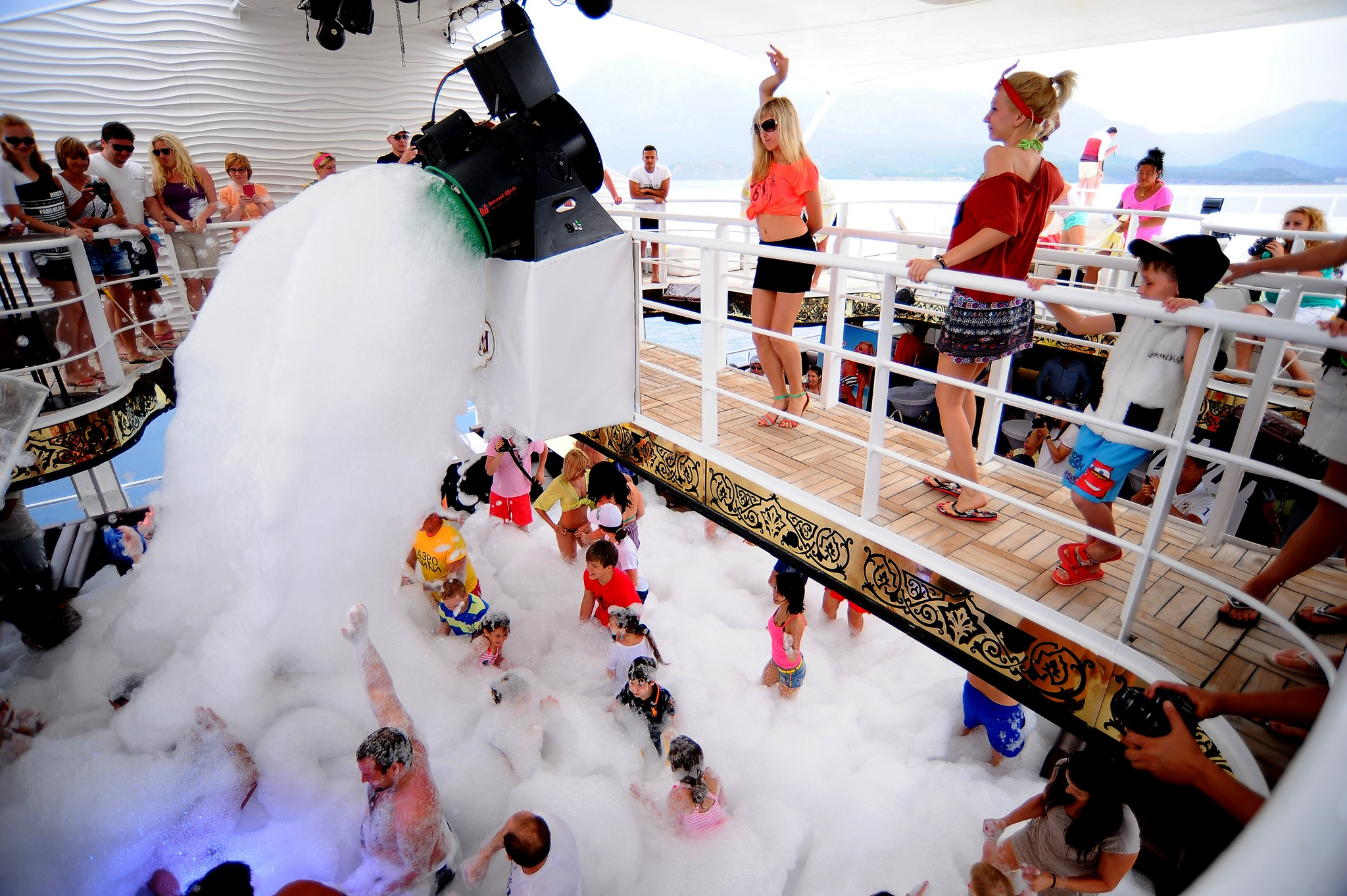 Harem Foam Party